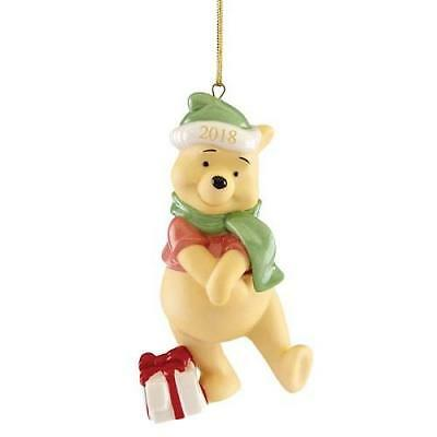 Lenox ~ 2018 PRESENT FROM POOH   Annual Ornament ~ New in Box