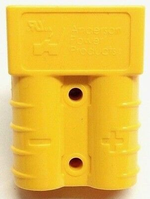 992G5 Anderson Original SB 50 Battery Connector Housing Yellow