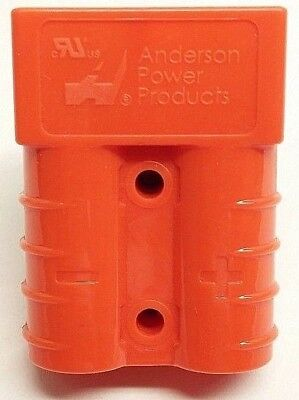 992G7 Anderson Original SB 50 Battery Connector Housing Orange