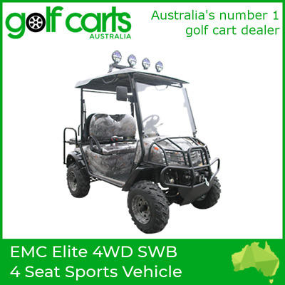 EMC Elite 4WD SWB 4 Seat Sports Vehicle