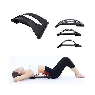 Back Massager Magic Stretcher Fitness Stretch Equipment Lumbar Support R3N1