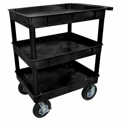 Luxor 24 x 32 in. 3 Tub Cart with P8 Casters