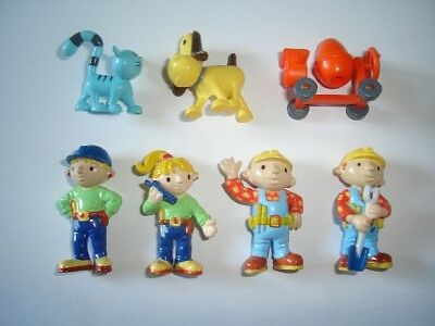 Bob The Builder Figurines Set Bip Germany - Figures Collectibles Miniatures