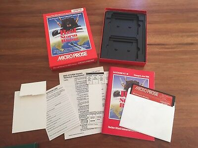 Red Storm Rising C64 Commodore 64 Disk Game