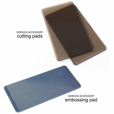 Sizzix Sidekick Accessory - Tim Holtz Brown Cutting Pads with 1 Embossing Pad...
