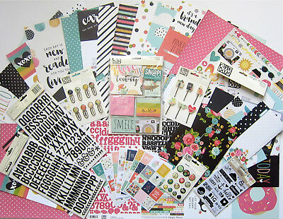 SIMPLE STORIES Carpe Diem A5 Double Sided Daily Inserts  156 Pack   Save 45/%