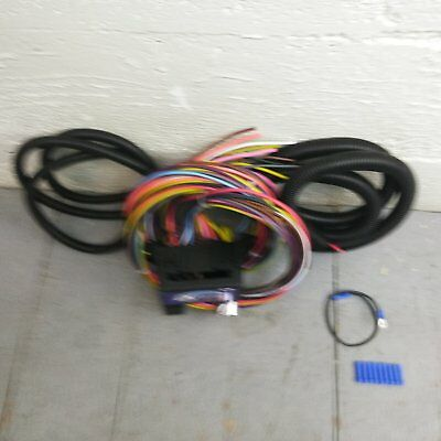 12v 18 circuit 12 fuse universal wiring harness kit 1937 dodge rocker switch wiring with relay and harness 12v 18 circuit 12 fuse universal wiring harness kit 1954 chevrolet 1937 dodge