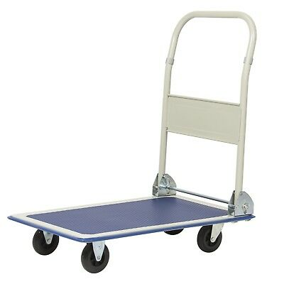 330lbs Platform Cart Folding Dolly Top Handle Bar folds Down to Save Space New