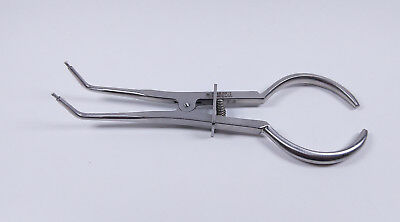 Dental Rubber Dam Clamp Forceps Plier Endodontic Surgical Instrument Tools