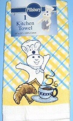 Nwt 2005 Pillsbury Doughboy With Red Strawberries Towel Poppin