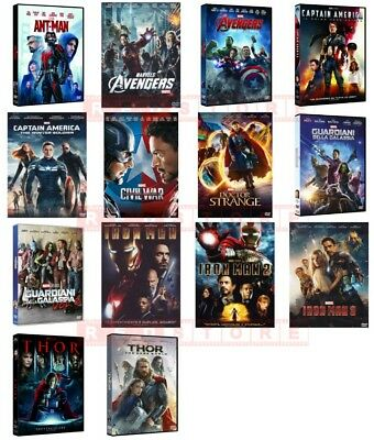 Marvel Collection - 14 Film (14 Dvd) Dvd Singoli, Nuovi, Italiani