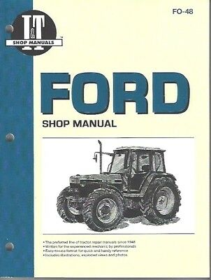 Ford 5640, 6640, 7740, 7840, 8240 & 8340 Tractor Workshop Manual