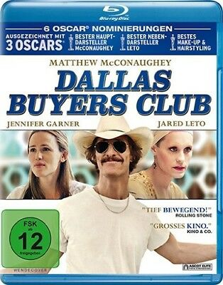 DALLAS BUYERS CLUB-Matthew McConaughey, Jennifer Garner, Jared Leto BLU-RAY NEUF
