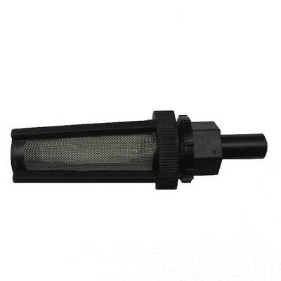 Plastic Straight/Elbow Head Black Filter Water Pump Strainer Tube Garden Tool