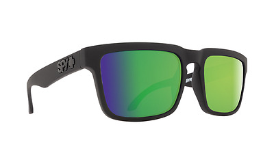 5dbc94c3b388 New Spy Optic Helm Matte Black Happy Bronze Polarized Green Spectra  Sunglasses