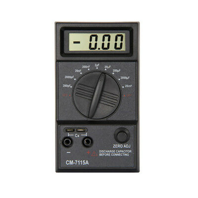 LC_ CM7115A Capacitor Digital Meter High Accuracy Capacitance Tester Multimete