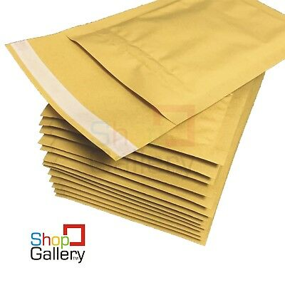 Bubble Bags Gold Padded Envelopes Postal Wrap - All Sizes