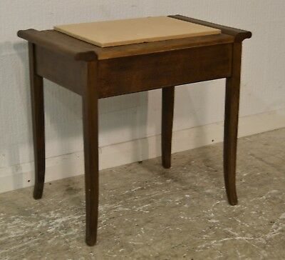 Vintage Antique Style Piano Stool - 3422