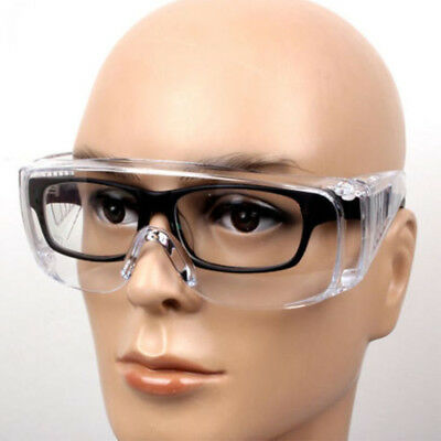Eye Protection Lab Outdoor Work Eyewear Protective Safety Goggles Glasses New