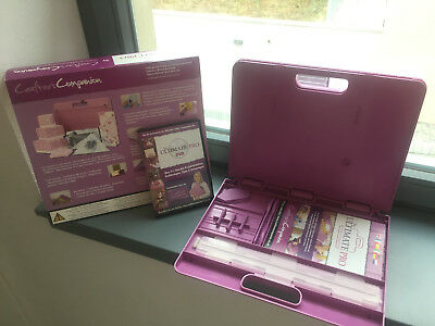 Crafters Companion The Ultimate Pro Mega Set inkl. DVD und 4 Boards + TOP OVP +
