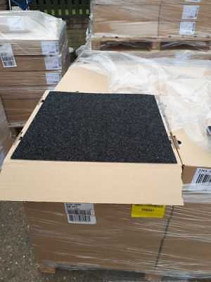 Anthracite Charcoal Black  New Contract Carpet Tiles 20 tiles/m2  £37.90 per box