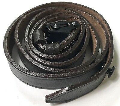 Wwii German Mp40 Leather Carry Sling