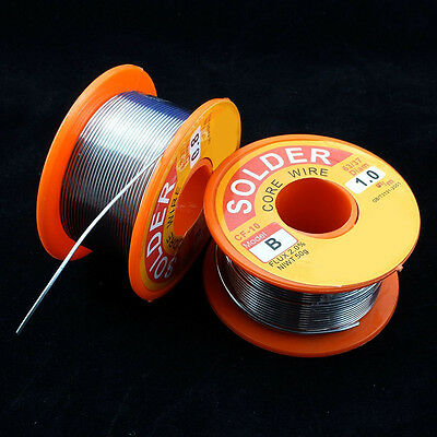 0.6/0.8/1.0  63/37*Tin/lead Rosin Core Solder Wire 2% Flux Reel Welding l New