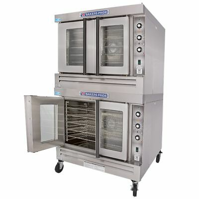 Bakers Pride BCO-G2 Cyclone Natural Gas or LP Full Size Double Convection Oven