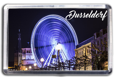 Dusseldorf Famous City Fridge Magnet Collectable Design Germany Deutschland