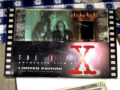 X-Files Authentic 35 M M  Film Limited Edition Film Cels # 0814 item 56010 Cell