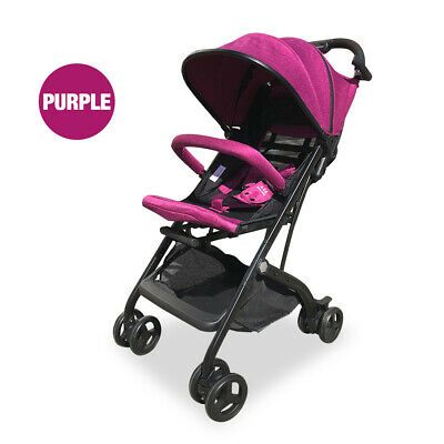 Compact Baby Stroller Pram Baby Carriage Reclining Seat for Airplane Compartment
