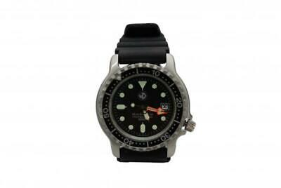 WATCH DESIGN  Black Star Herren Tauchuhr schwarz