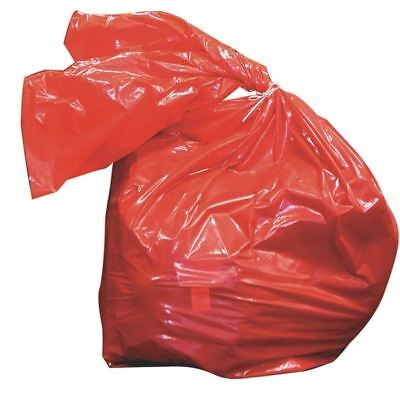 Laundry Soluble Strip Bags Red 50 Litre 457x711x762mm (Pack of 200) [HEA01909]