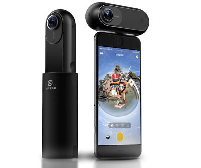 Videocamera 360° 4K - Insta360 ONE (Black) per iPhone