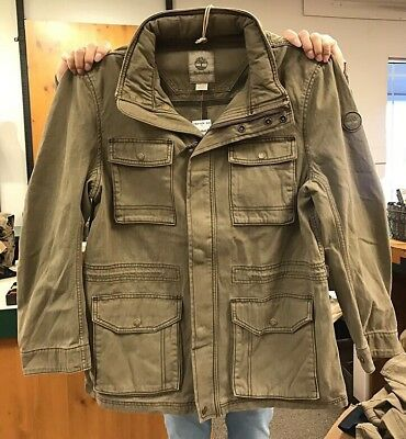 NWT Timberland Mens Mt Stickney M65 Jacket Military Inspired A1HPA Size M