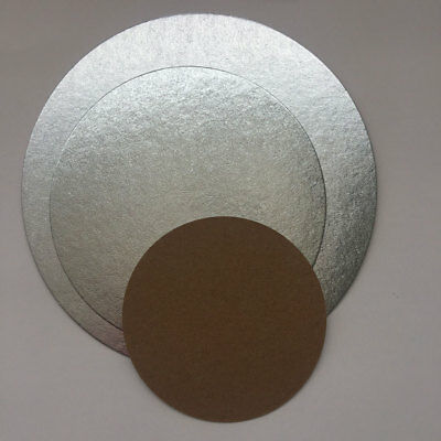 Pack of round cake cards and dowels for supporting tiered cakes Wedding Birthday