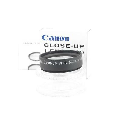 Canon 240 C-8 48mm Close-Up Filtro Original + Estuche Boxed