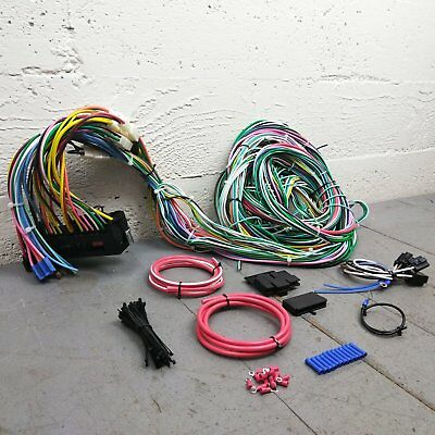 1961 1966 Ford Truck Econoline Van Wire Harness Upgrade Kit Fits. 1980 1986 Ford Truck Or Bronco Wire Harness Upgrade Kit Fits Painless New Kic. Ford. Painless Wiring Harness Ford Bronco At Scoala.co