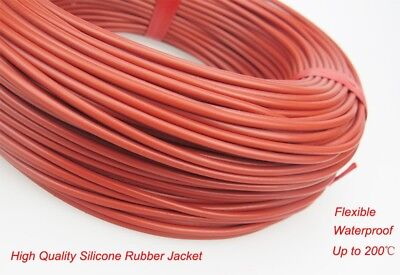 100M Heating Wire Infrared Cable System Heater Carbon Fiber Electric Floor 33Ohm