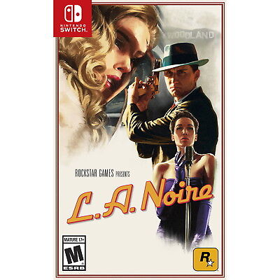 L.A. Noire Switch [Factory Refurbished]