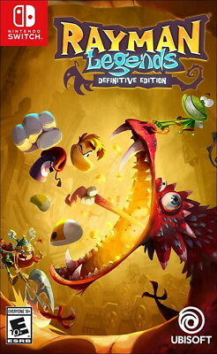 Rayman Legends: Definitive Edition Switch [Factory Refurbished]