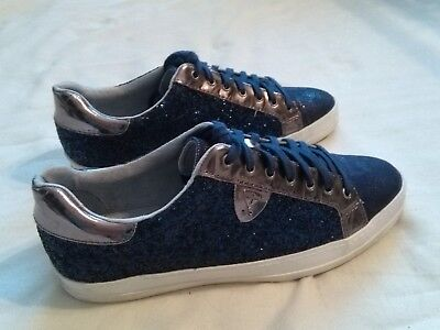 finest selection 59fb2 e03b5 DAMEN SNEAKER 39 Tamaris blau Glitzer