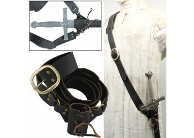 Leather Waist Hanger Frog Baldric Sword Hanger