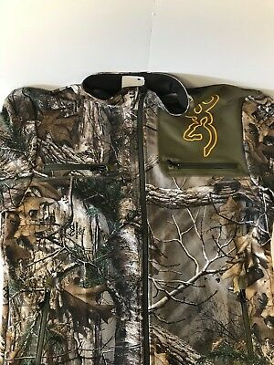 Browning Hell's Canyon Mercury Jacket Real Tree Size Large #3004-RTX