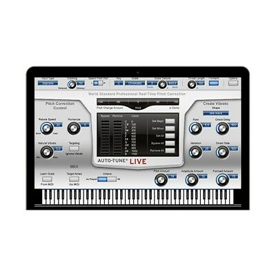 Antares Auto-Tune Live Real-Time Pitch Correction Software Plug-In Download
