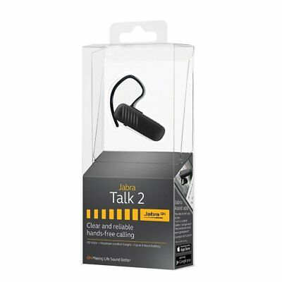 New Jabra Talk 2 Bluetooth Headset HD Voice Same Day Shipping
