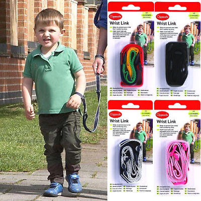 Clippasafe Wrist Rein Strap Child Link Toddler Lead Walk Chain Secure 1-4 Years