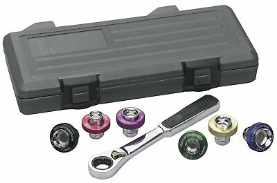 Gearwrench 7 Piece Magnetic Oil Drain Plug Socket Set 3870D
