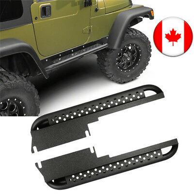 Off-Road Iron Side Step Nerf Bars Running Boards for 1997-2006 Jeep Wrangler TJ