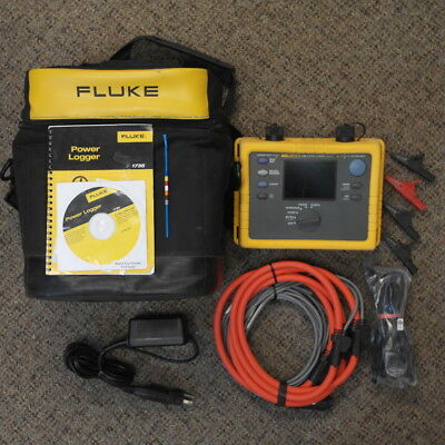 Fluke 1735 Power Logger Analyst, Excellent Condition
